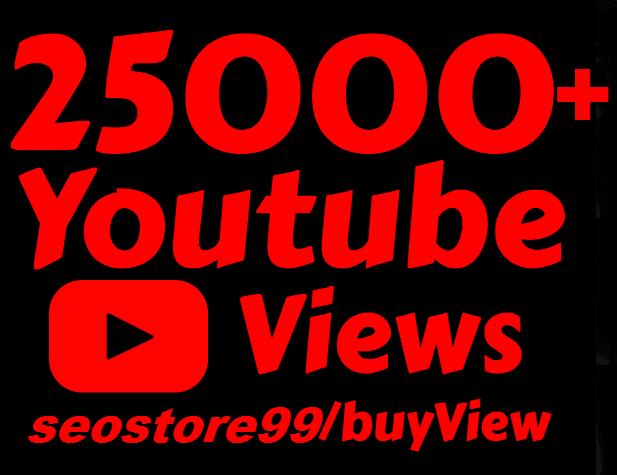 Super 15,000+ to 25,000+ High Retention y-o-u-t-u-b-e Vie.ws+bonus 250+ Li-kes 24 to 48 hours