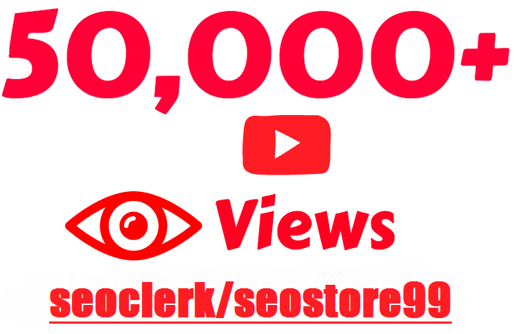 Organic YouTube user and video marketing and social media promotion for limited time