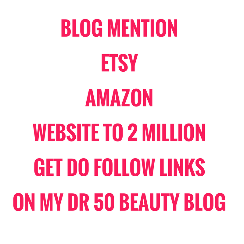 Blog mention your website ETSY, amazon, ebay, pinterest or blog to 2 million people