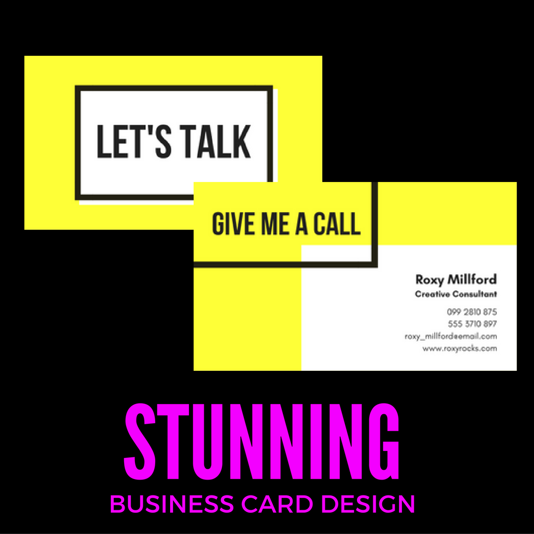 create a stunning and innovative UK business card for you to revolutionize your brand