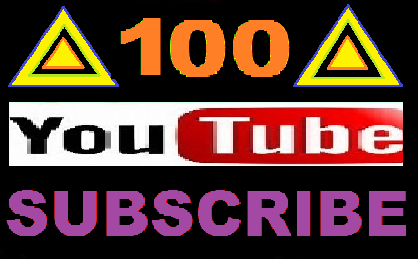Non Drop 100+ Youtube subscribers with very fast