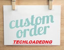 Custom Order For All My Clients