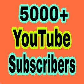 Special offer 5000+ You Tube  Chanel Subs cribers non drop very fast completed