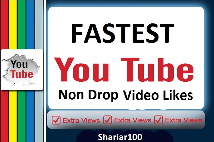 Super fastest Delivery 2000+ You+tube video L.ikes & 15 custom comments