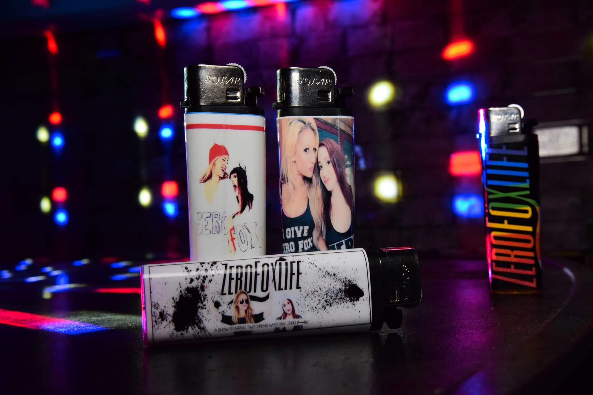 100 Custom Made Cigarette Lighters