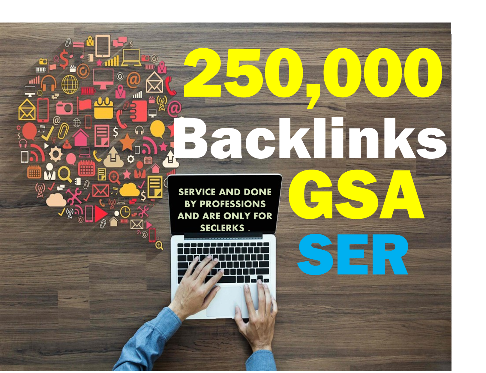 GSA 400,000 BACKLINKS HIGH Authority For SEO Ranking