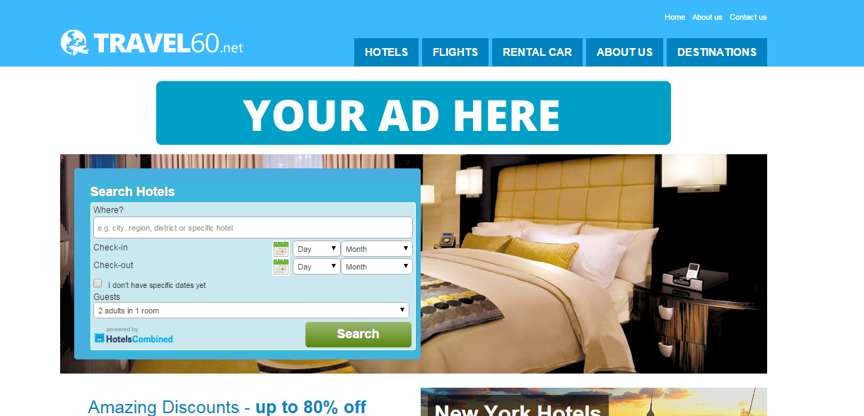 FULLY AUTOMATED TRAVEL, HOTEL, FLIGHT & CAR RENTAL WEBSITE BUSINESS SALE