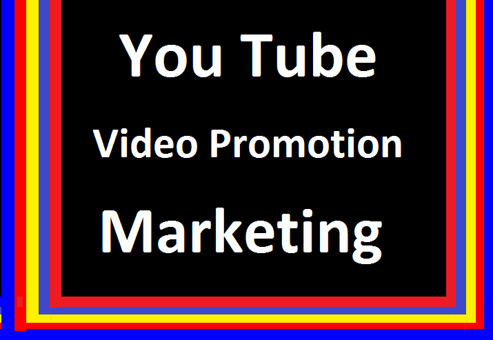 YouTube Video Marketing & Social Media Promotion In 24-72 Hours Delivery