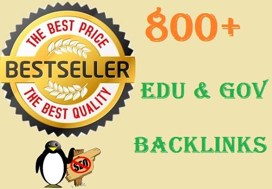 provide 800 Edu backlinks for your website or blog through blog comments