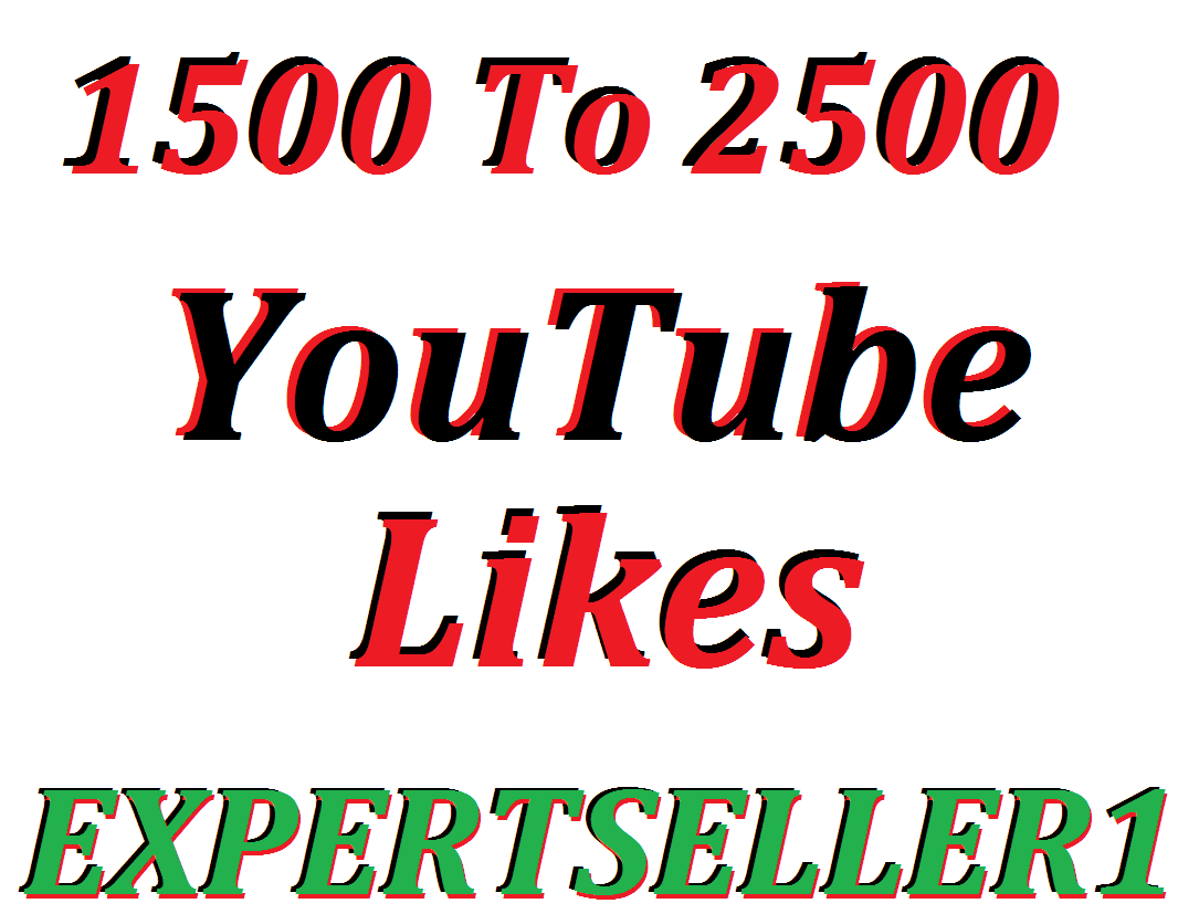Limited Offer 1500 To 2500 Lik-es  to make Attractive your Video Non Drop Guarantee In 24 Hours