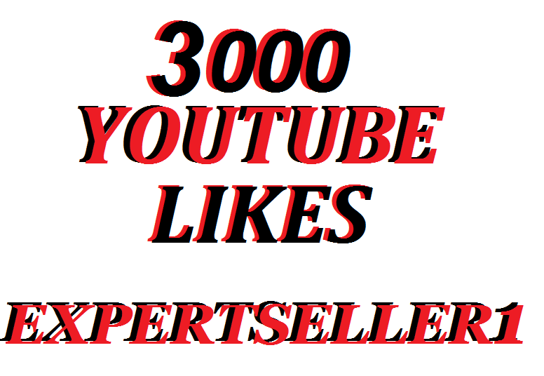 Offer 3,000 Real YouTube Video Likes In 72 Hours
