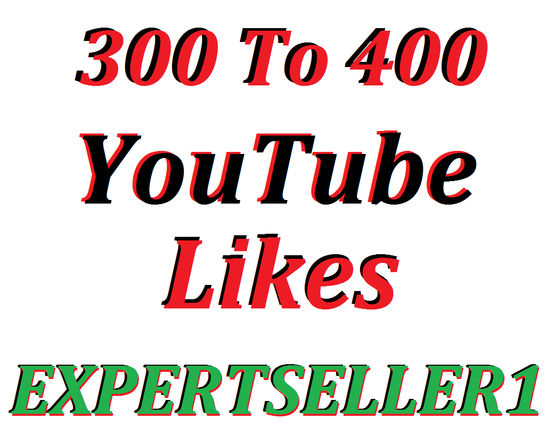 Limited Offer 300 To 400 Likes  to make Attractive your Video Non Drop Guarantee