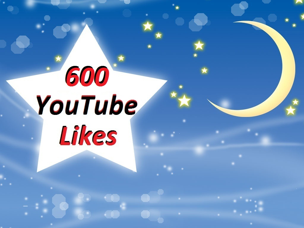 Get 600 YouTube Video Likes Super Fast
