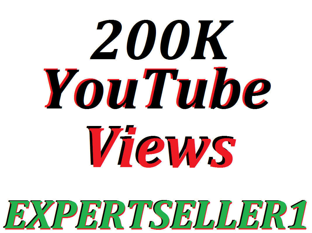 Offer 200k YouTube views to make Attractive your Video
