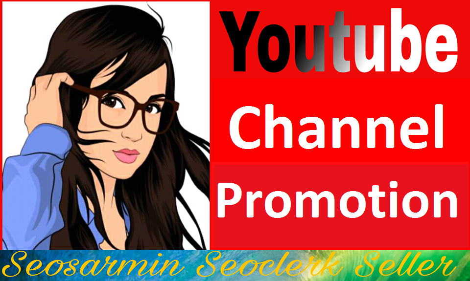 Real Channel Promotion Guaranteed Non Drop And Instant Start