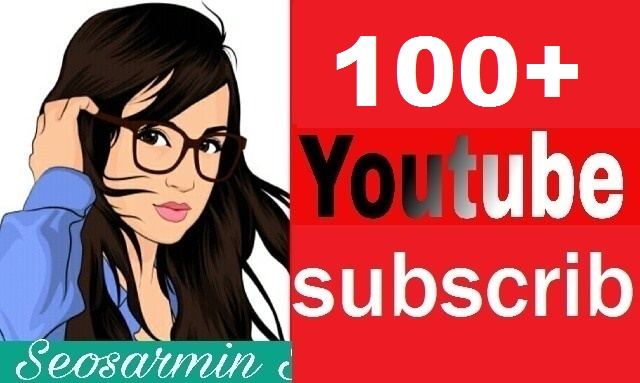 Instant 100+You Tube Subscribe real and Non Drop Refill Guaranteed Just