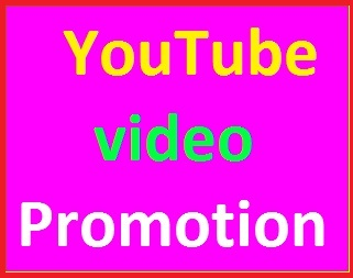 Youtube video marketing promotion and rank your video just