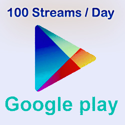 We will stream your song 100 times in one day  on Google Play Music