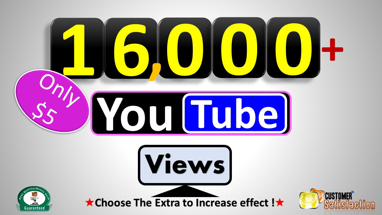 Instant 4000+  Video Views, Real Active non Drop Guaranteed