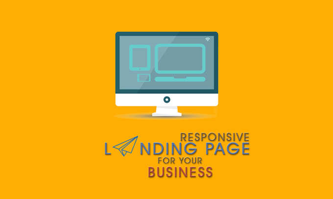 professional LANDING page for your business