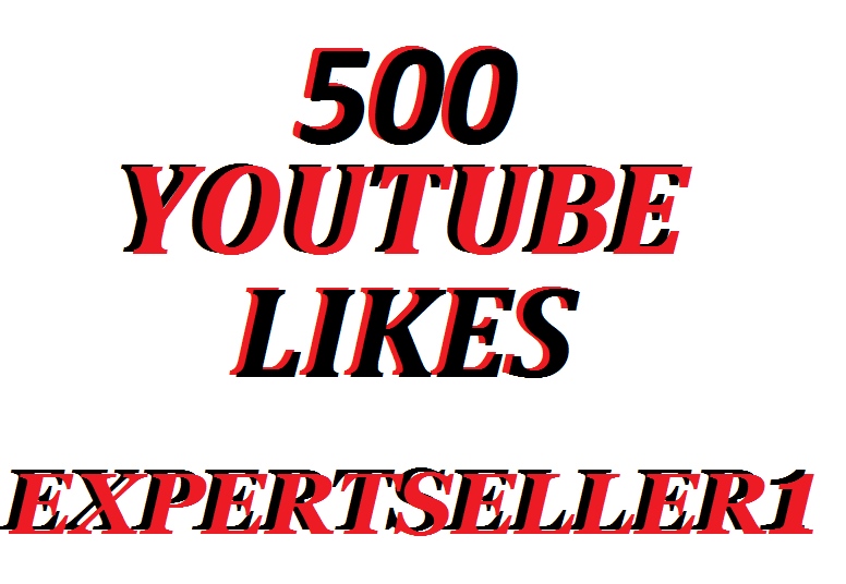 Offer 500 YouTube Video Likes