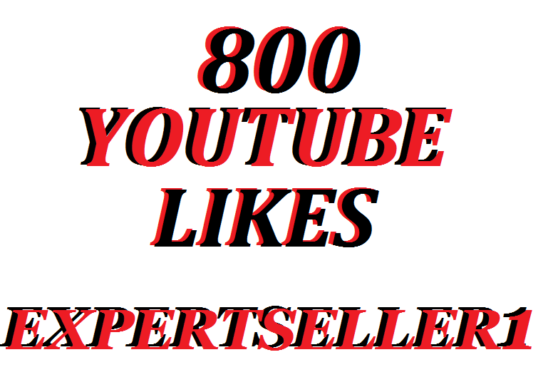 Get 800 Real Youtube Video Likes