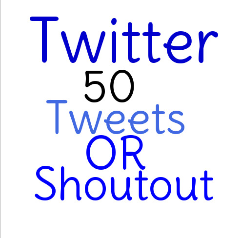 Instant 30 Twitter  Tweets Or Shoutout