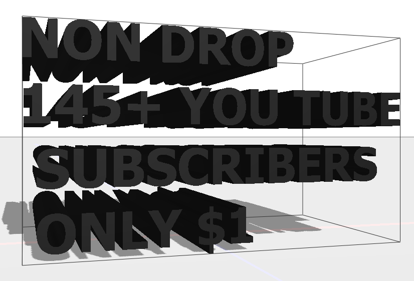 145+ Non Drop Quality  you tube Subscribers