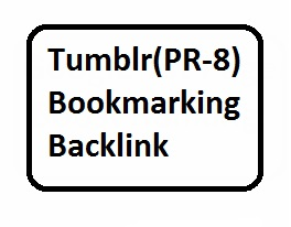 20 Tumblr PR-8 bookmarking backlinks For Website