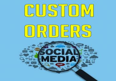 Custom Order For Buyers