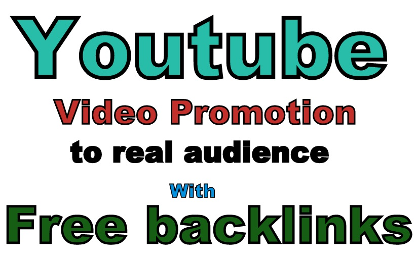 Youtube Video Promotion Drip feed with Free Backlinks