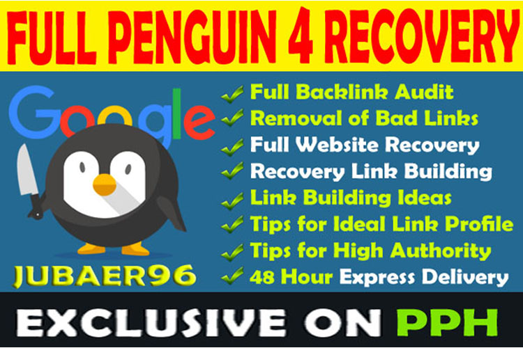 Full Penguin 4 Recovery and Link Building for reRank