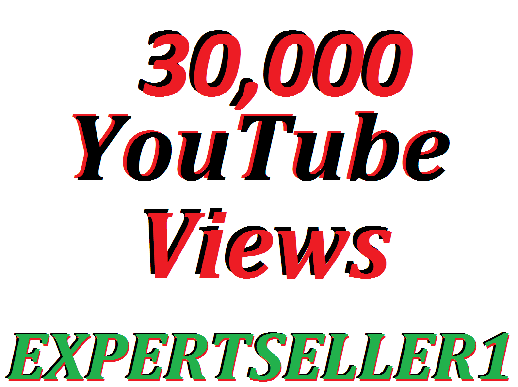 Limited Offer 30,000 HQ You-Tube Vie/ws In Your Video Refill Guarantee