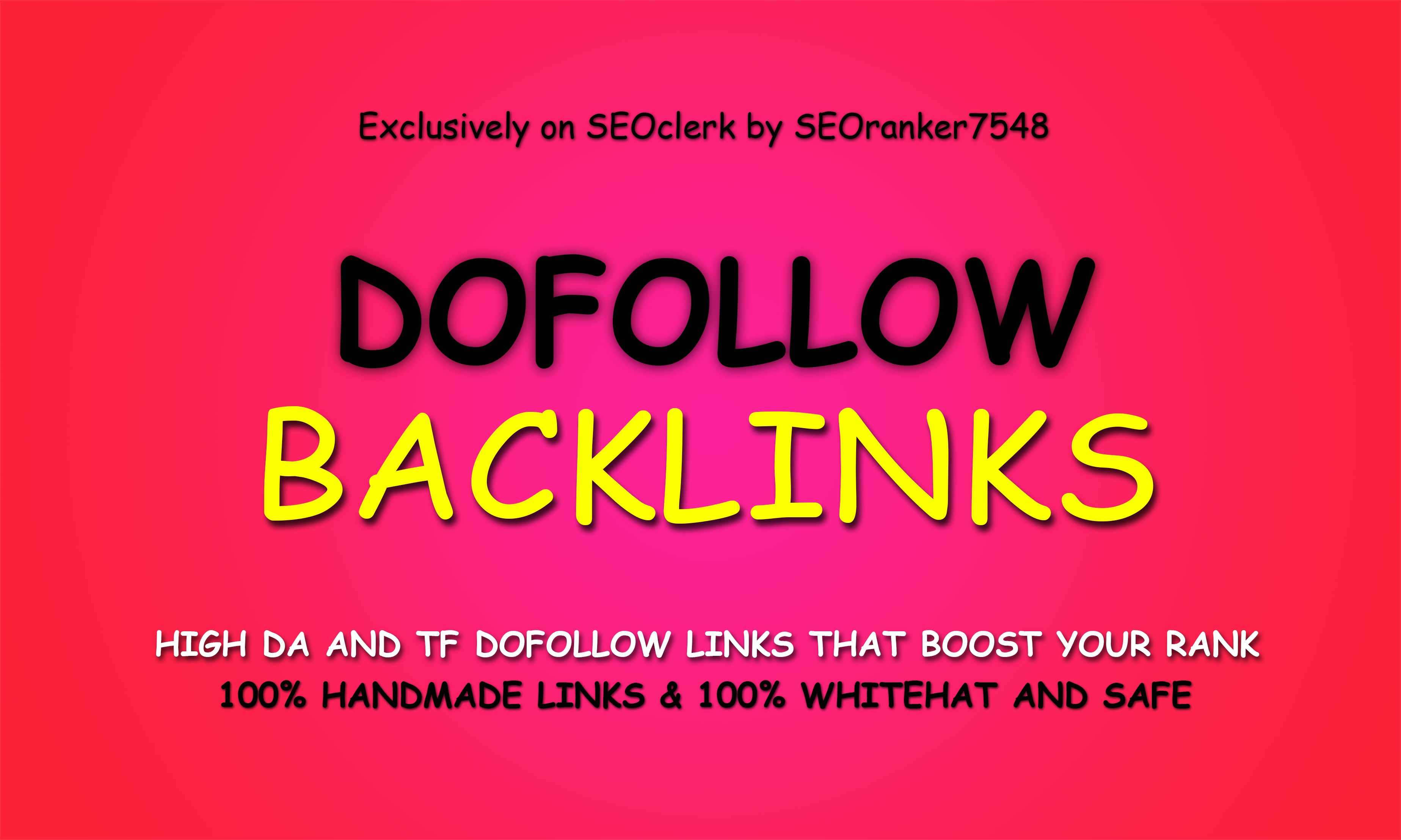 50 Permanent PR9-5 Up Authority Dofollow Backlinks