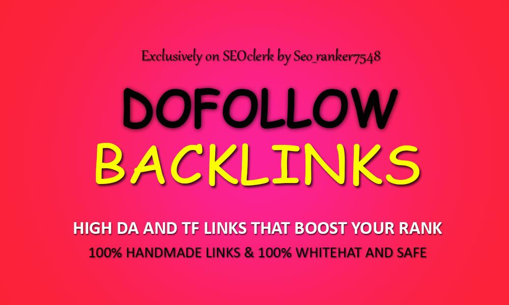 Permanent 50 PR9-5 Authority Dofollow Backlinks