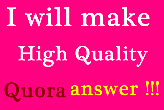Promote your website in 25 Guaranteed Clickable Link Quality Quora ansewrs