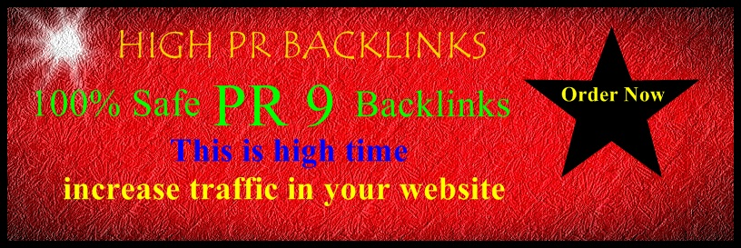 Google 1st Page Ranking with High PR Backlinks