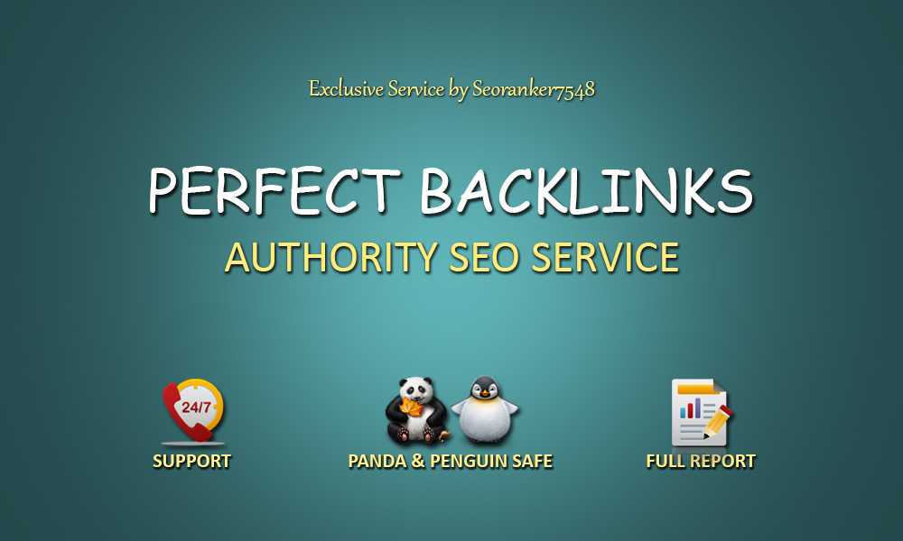 40 PR9 + 20 EDU GOV High Trust Authority Perfect Backlinks