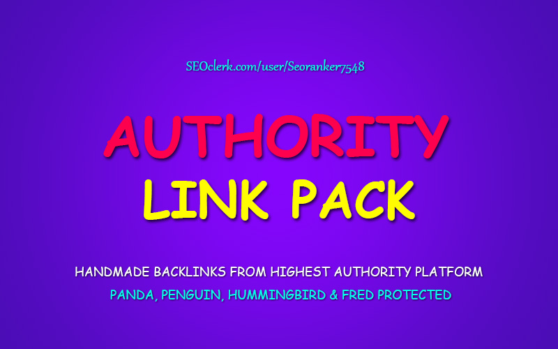 Authority Link Pack - Fire The Google Rankings