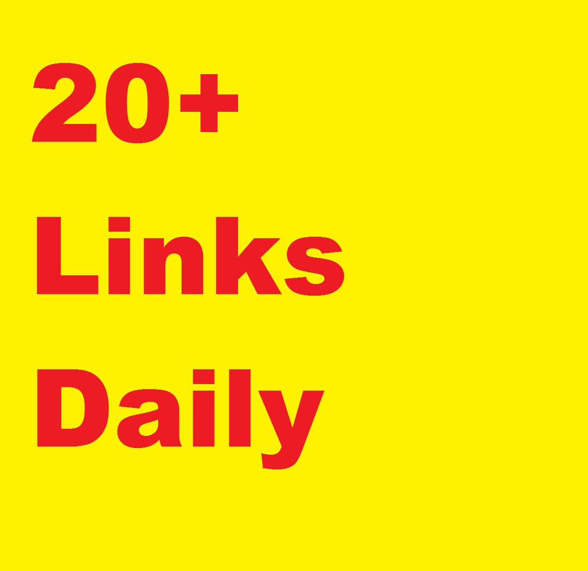 Manual 20+ links DAILY, DA 40-99 , WHITEHAT