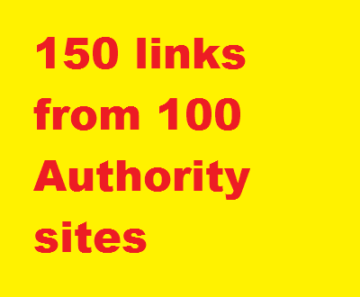 Manual 150+ links High Authority, PR4 to 9, DA 45 to 99 from 100 domains