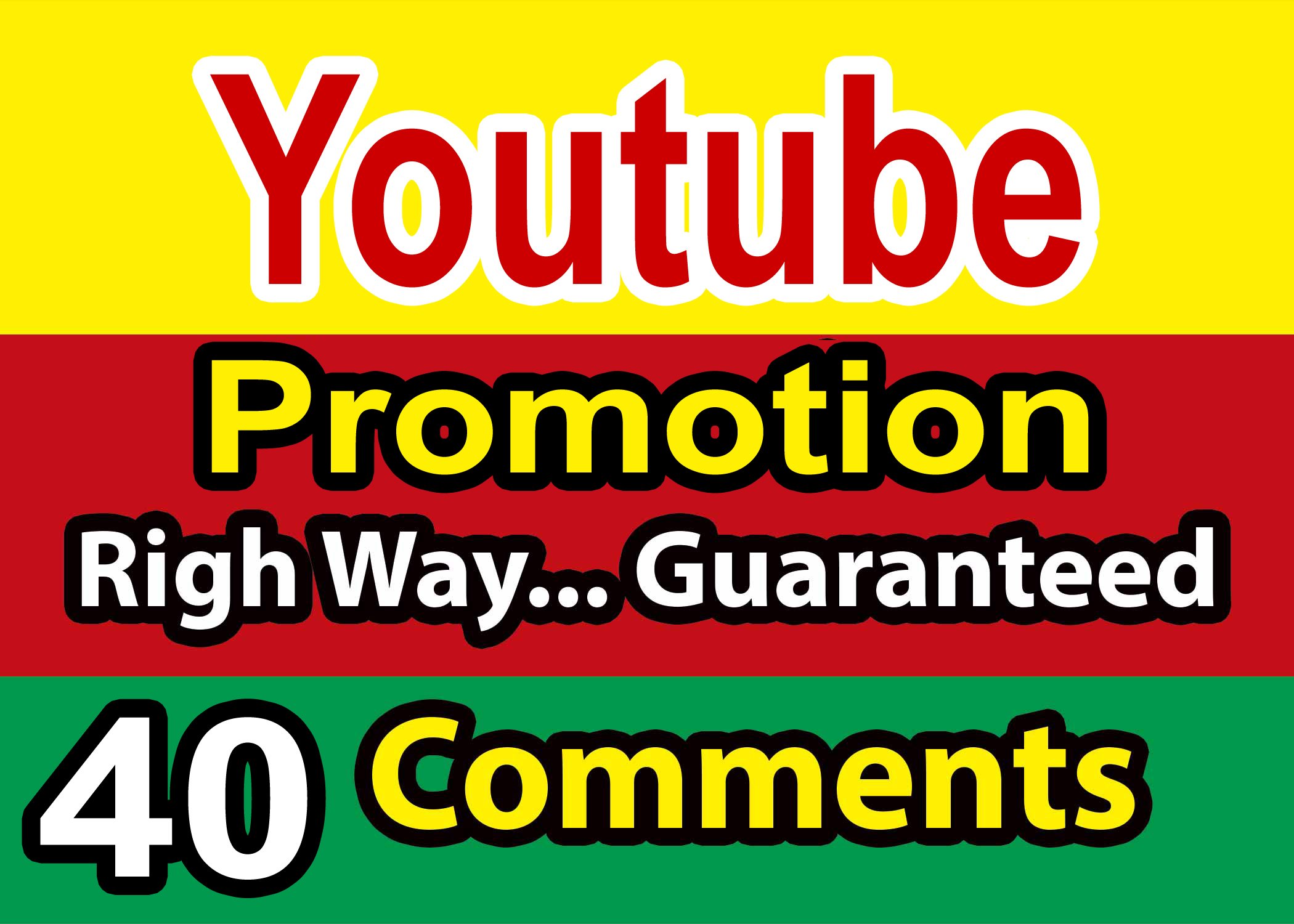 Limited Offer 40+ YouTube USA User Custom Comments With Free Some Likes And Subscribers $