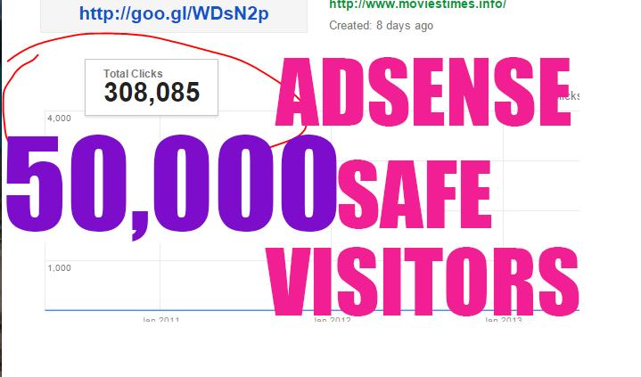 KILLER 20,000 Real HUMAN TRAFFIC To Your Website, Blog or Affiliate Link