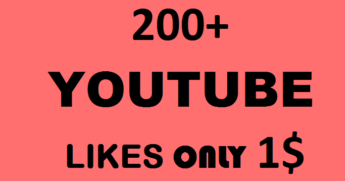 201+ YOU TUBE LIKES IN 6 HOURS