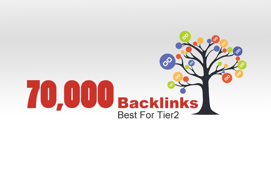 GET 70,000 BACKLINKS, Best For Tier2