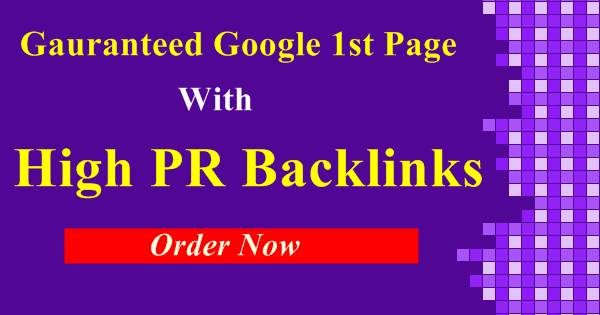 Gauranteed Off-page SEO Service With Google 1st Page