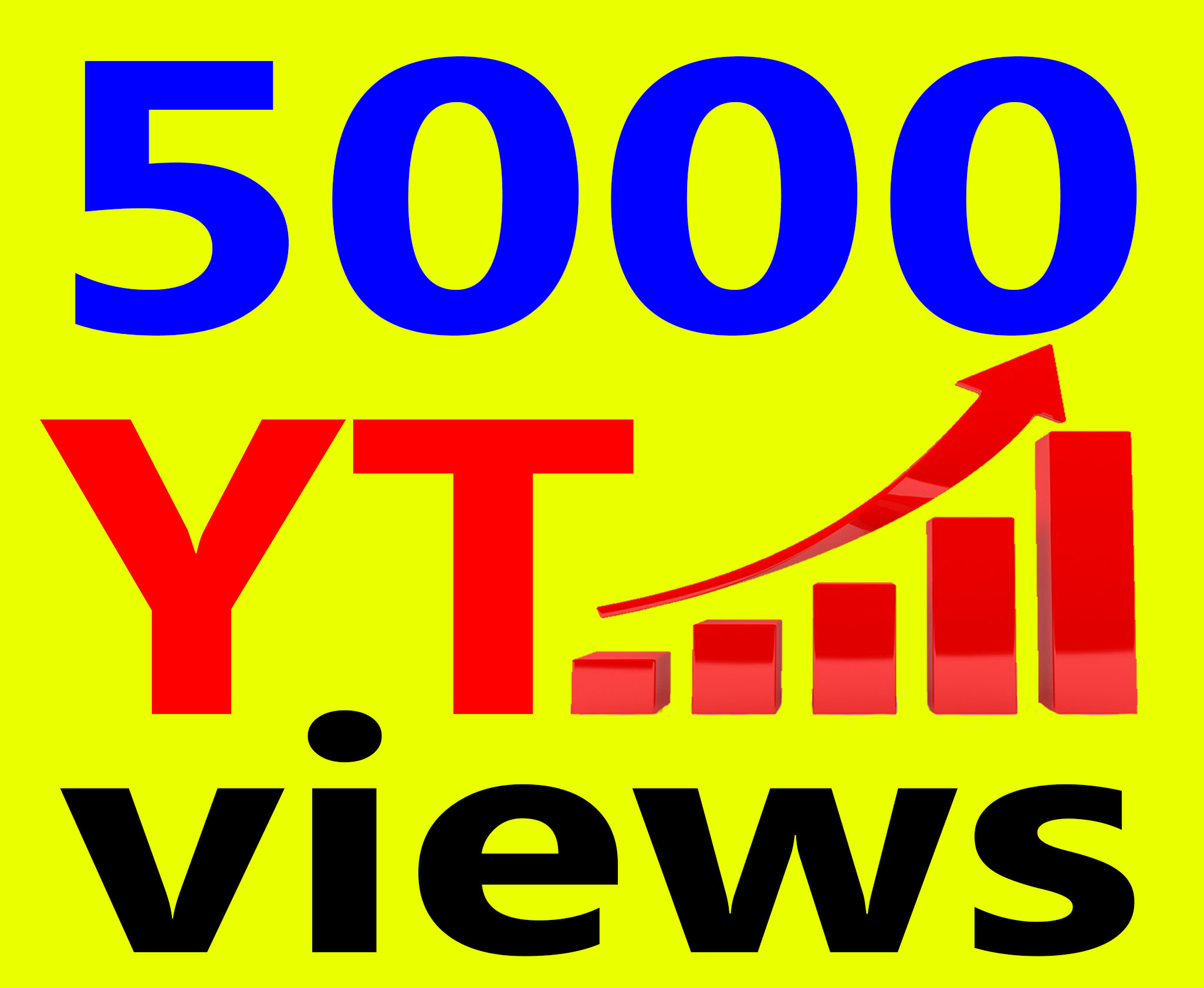 Fast 5000+ Ad-sense Safe Vie ws High Retention & Non Drop