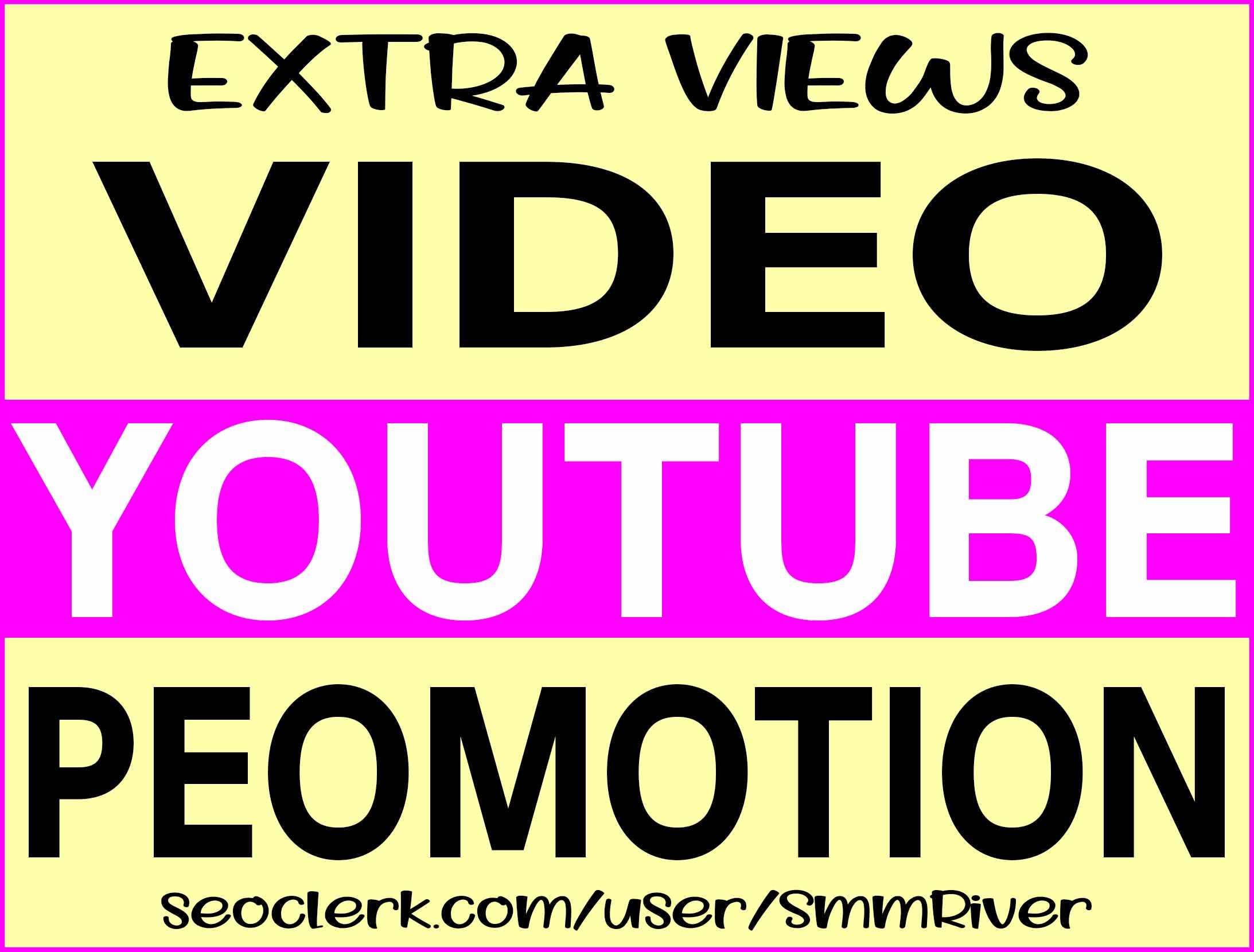 YOUTUBE VIDEO PROMOTION NON DROP & HIGH QUALITY INSTANT START SERVICE
