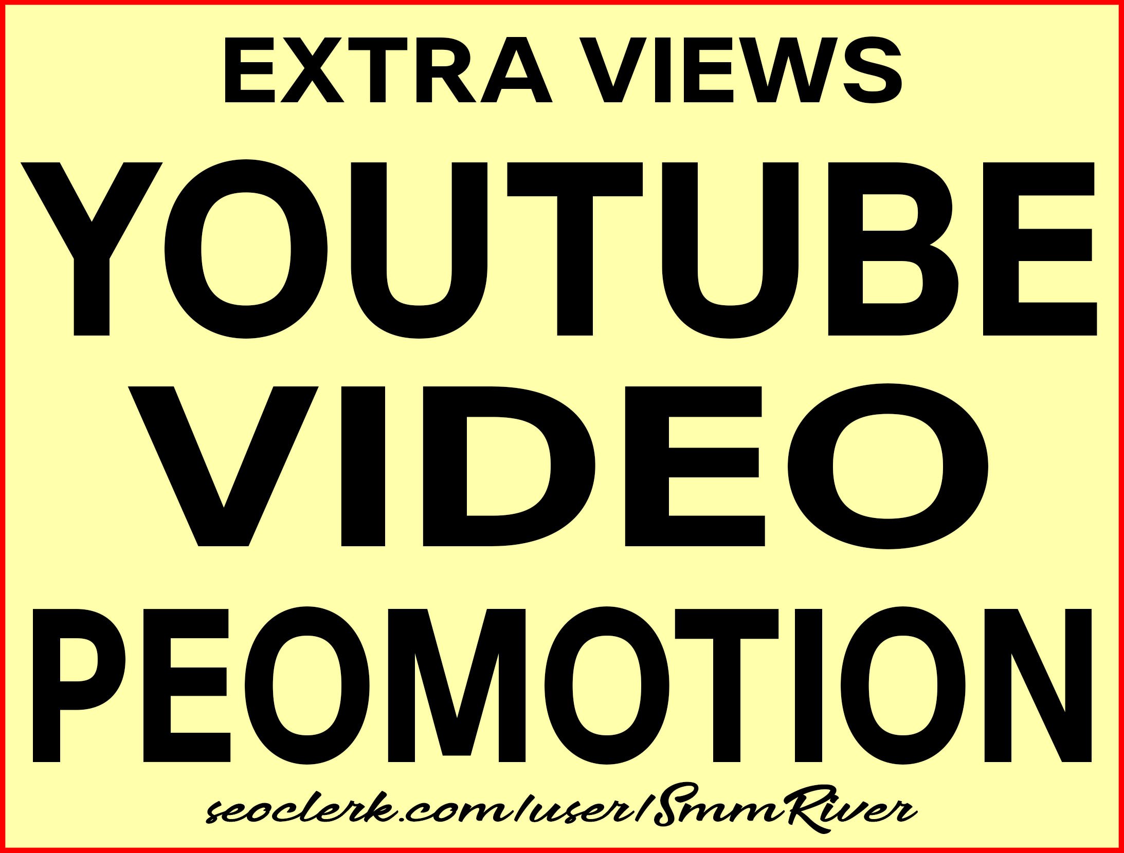 YouTube Video Promotion Non Drop and Best Quality Service