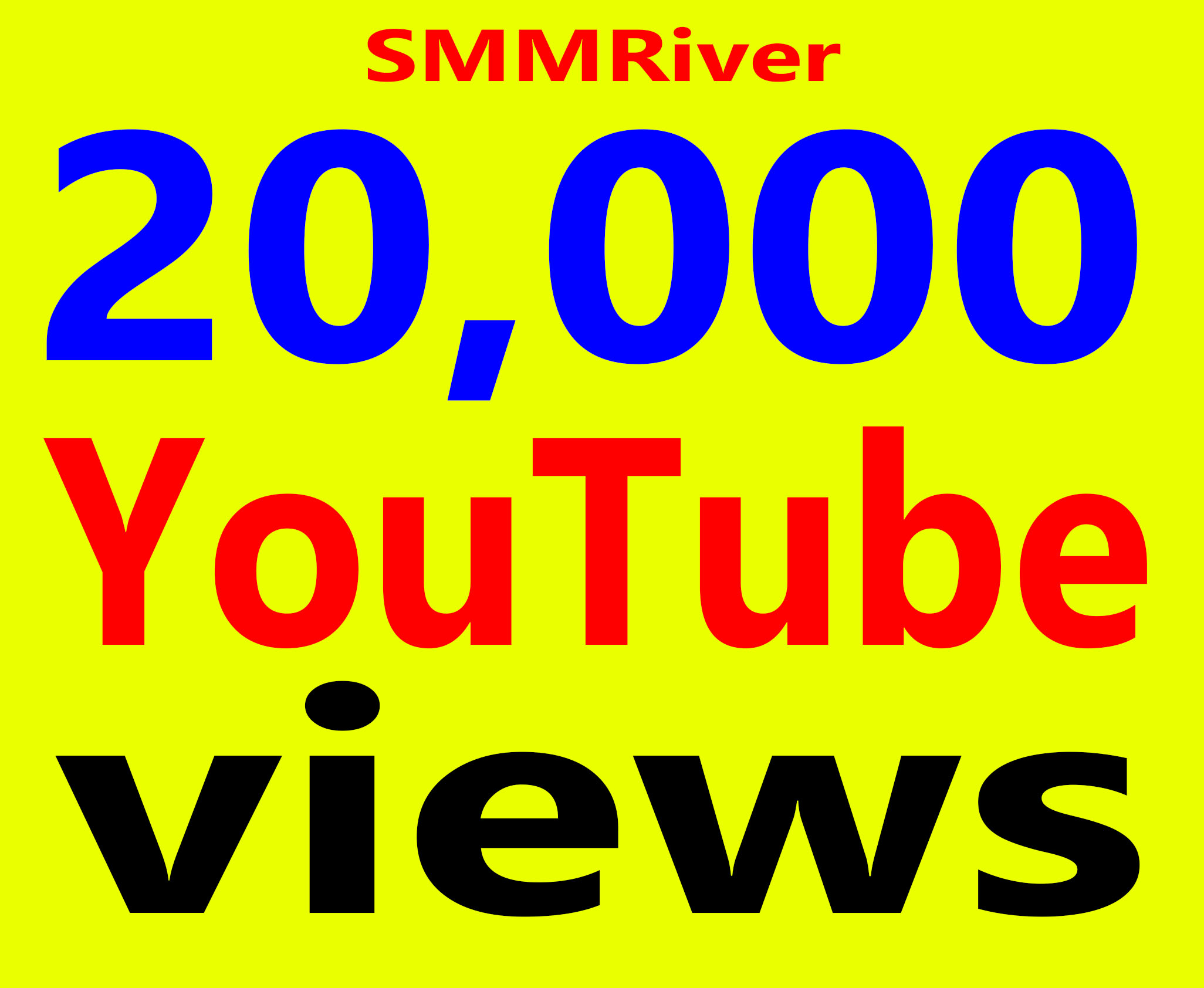 Fast 20,000+ Views High Retention 99% Ad-sense Safe & Non Drop